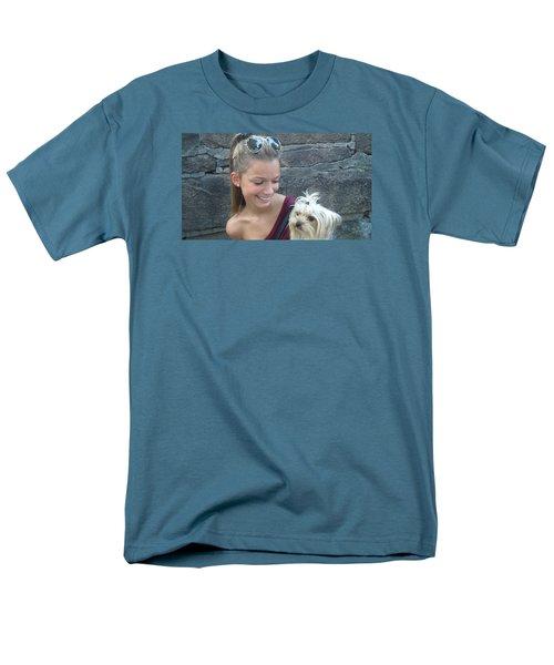 Dog And True Friendship 4 Men's T-Shirt  (Regular Fit) by Teo SITCHET-KANDA