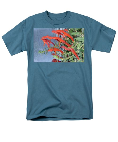 Men's T-Shirt  (Regular Fit) featuring the photograph Dolphin Plant by Brenda Brown