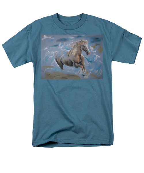 Men's T-Shirt  (Regular Fit) featuring the pastel Dreamworks by Peter Suhocke