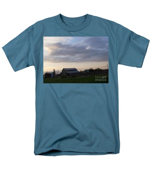 Men's T-Shirt  (Regular Fit) featuring the photograph Dusk To Dawn by Bobbee Rickard