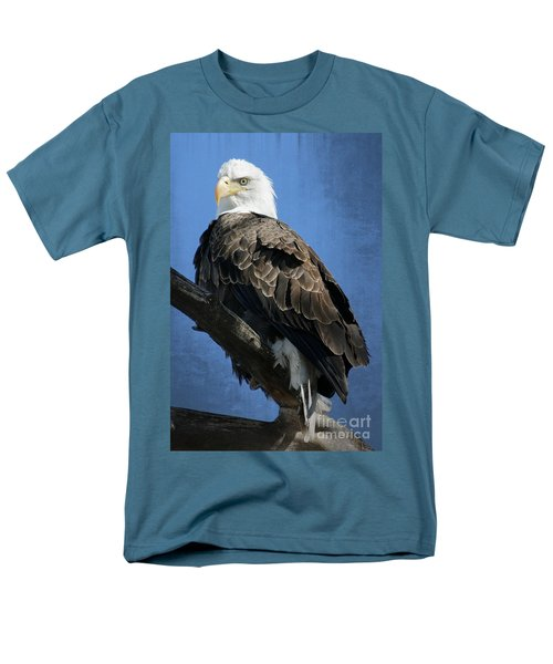 Eagle Eye Men's T-Shirt  (Regular Fit) by Bob Hislop