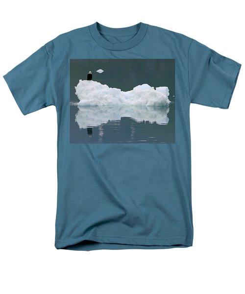 Eagle On Ice Men's T-Shirt  (Regular Fit) by Shoal Hollingsworth