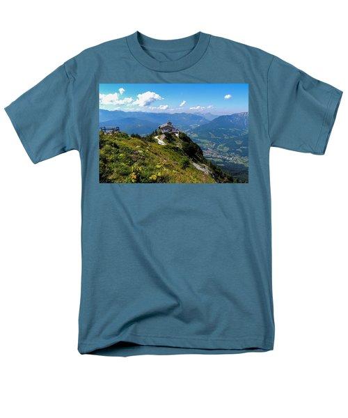 Eagle's Nest Men's T-Shirt  (Regular Fit) by Marilyn Burton