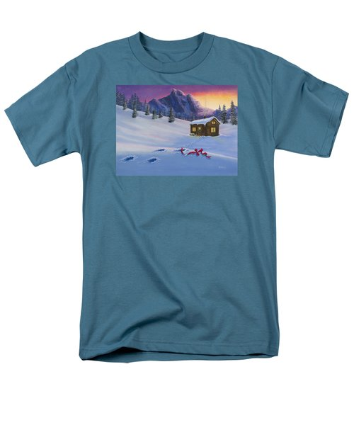 Early Christmas Morn Men's T-Shirt  (Regular Fit) by Jack Malloch