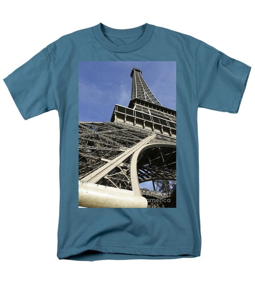 Men's T-Shirt  (Regular Fit) featuring the photograph Eiffel Tower by Belinda Greb