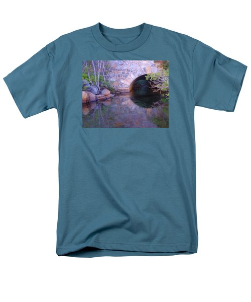 Men's T-Shirt  (Regular Fit) featuring the photograph Enter The Tunnel Of Love  by Sean Sarsfield