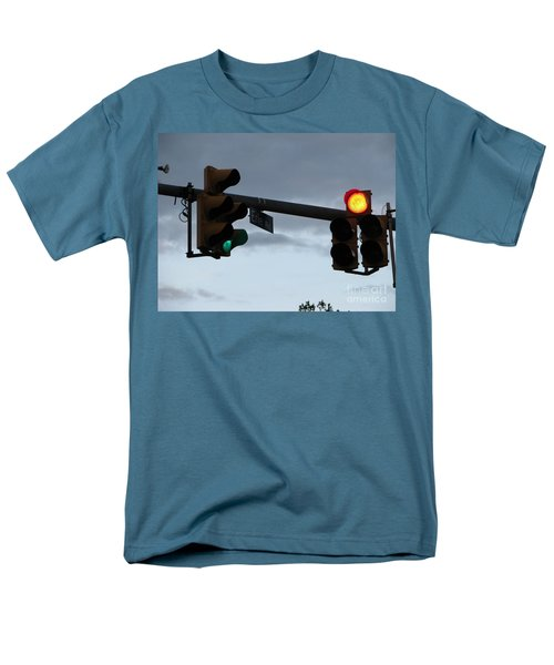 Men's T-Shirt  (Regular Fit) featuring the photograph Erie Road  by Michael Krek