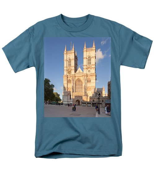 Facade Of A Cathedral, Westminster Men's T-Shirt  (Regular Fit) by Panoramic Images