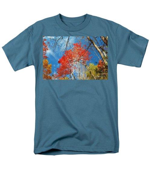 Men's T-Shirt  (Regular Fit) featuring the photograph Fall Sky by Patrick Shupert