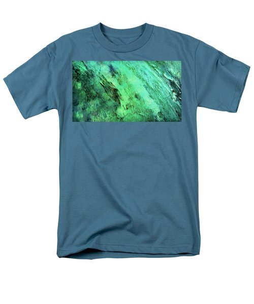 Men's T-Shirt  (Regular Fit) featuring the mixed media Fallen by Ally  White