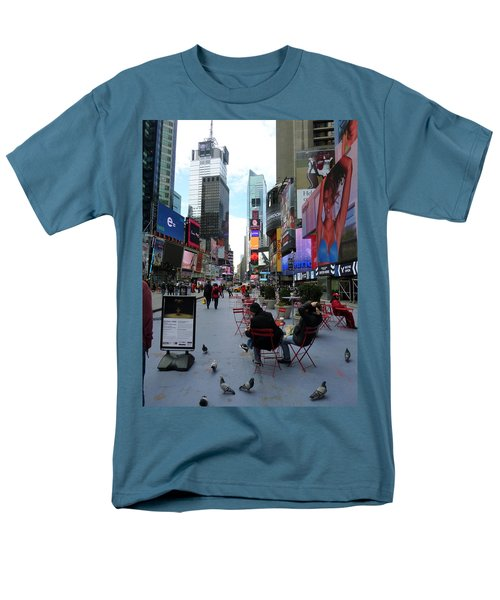 Men's T-Shirt  (Regular Fit) featuring the photograph Feeding Time by Jackie Carpenter