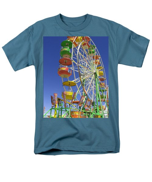 Ferris Wheel Men's T-Shirt  (Regular Fit) by Marcia Socolik