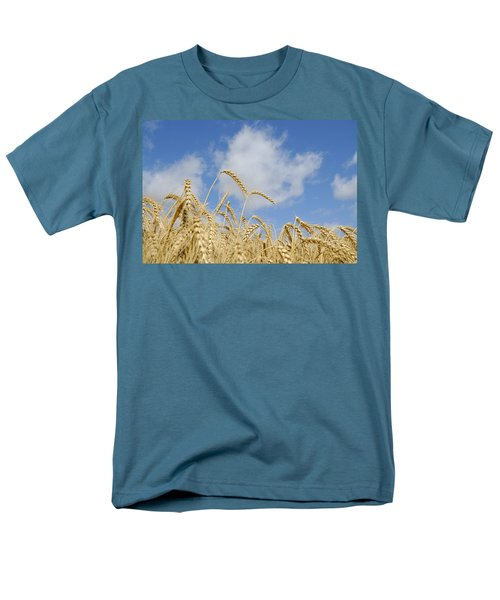 Field Of Wheat Men's T-Shirt  (Regular Fit) by Charles Beeler