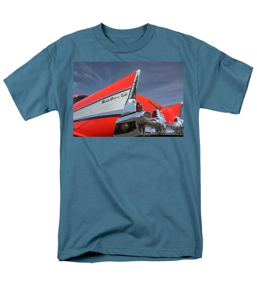 Fintastic '57 Chevy Men's T-Shirt  (Regular Fit) by Kevin McCarthy