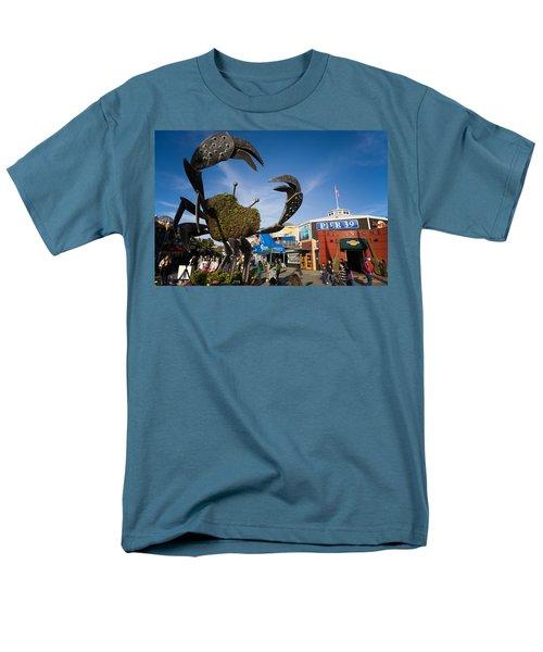 Fishermans Wharf Crab Men's T-Shirt  (Regular Fit)