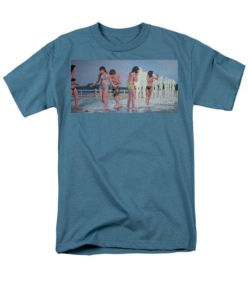 Five Fountain Friends Men's T-Shirt  (Regular Fit)