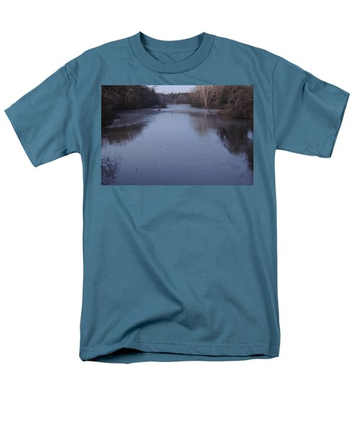Men's T-Shirt  (Regular Fit) featuring the photograph Flint River 1 by Kim Pate