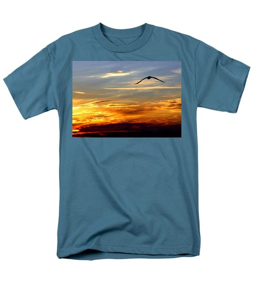 Men's T-Shirt  (Regular Fit) featuring the photograph Fly Free by Faith Williams