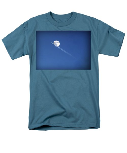 Fly Me To The Moon Men's T-Shirt  (Regular Fit) by Cricket Hackmann