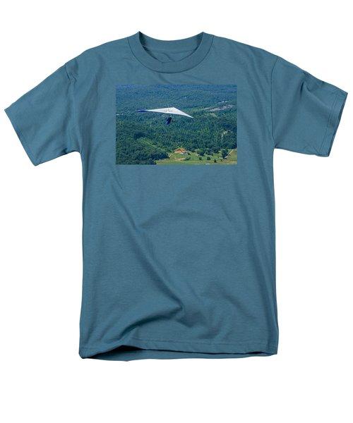 Men's T-Shirt  (Regular Fit) featuring the photograph Flyin High by Susan  McMenamin