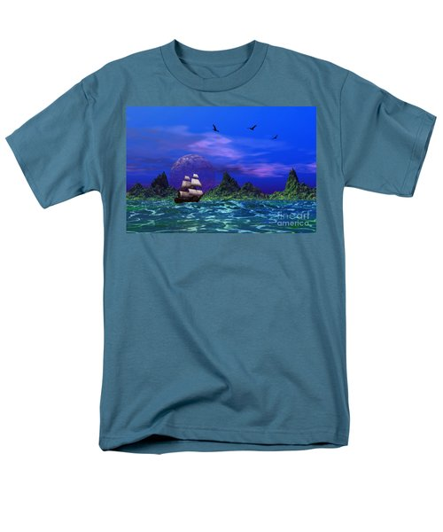 Men's T-Shirt  (Regular Fit) featuring the photograph Flying Dutchman by Mark Blauhoefer