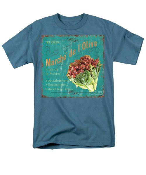 French Market Sign 3 Men's T-Shirt  (Regular Fit) by Debbie DeWitt