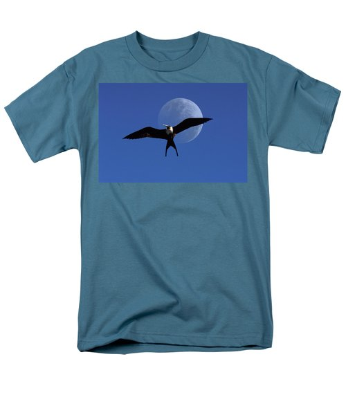 Frigatebird Moon Men's T-Shirt  (Regular Fit) by Jerry McElroy