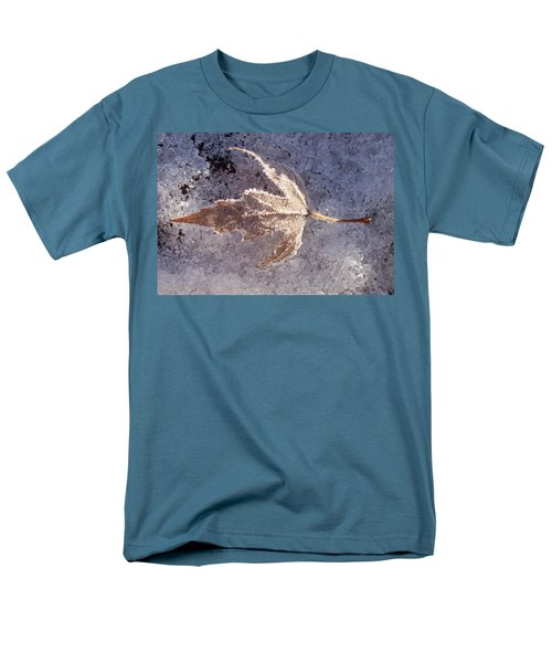Frozen Leaf Men's T-Shirt  (Regular Fit) by Richard Bryce and Family