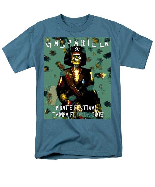 Gasparilla Pirate Fest 2015 Full Work Men's T-Shirt  (Regular Fit) by David Lee Thompson