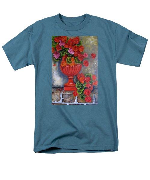 Geranium Men's T-Shirt  (Regular Fit) by Katia Aho