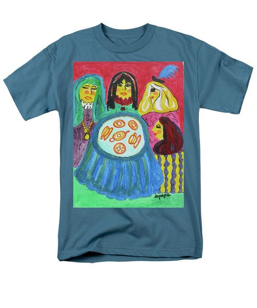 Men's T-Shirt  (Regular Fit) featuring the painting Girlfriends by Diane Pape