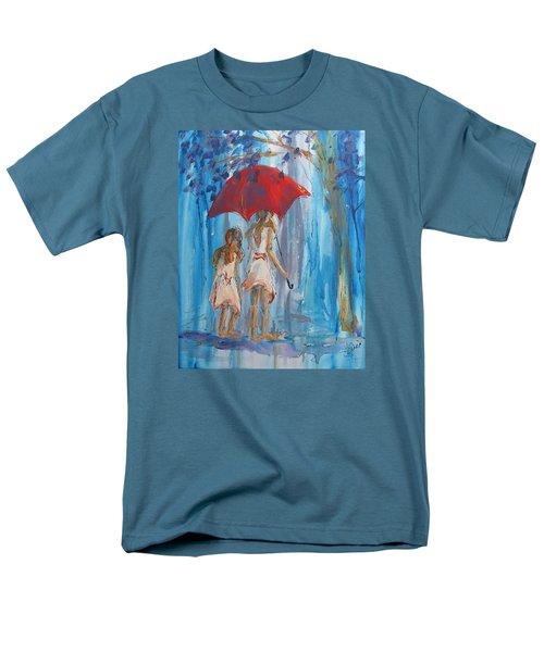 Give Me Shelter Men's T-Shirt  (Regular Fit) by Terri Einer
