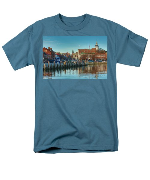 Men's T-Shirt  (Regular Fit) featuring the photograph Good Morning Downtown by Jennifer Casey
