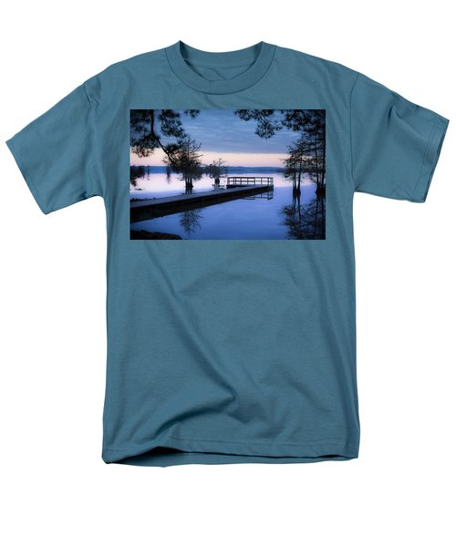 Good Morning For Fishing Men's T-Shirt  (Regular Fit) by David Morefield