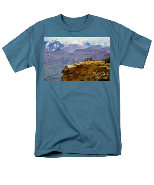 Grand Canyon Clearing Storm Men's T-Shirt  (Regular Fit) by Terry Garvin