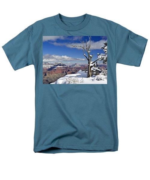 Grand Canyon Winter -2 Men's T-Shirt  (Regular Fit)