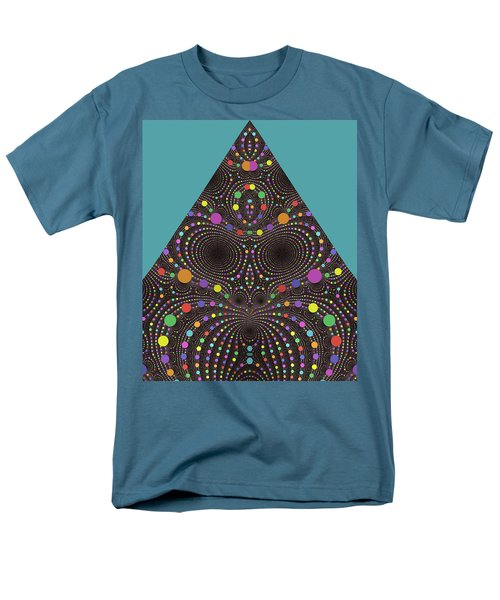 Men's T-Shirt  (Regular Fit) featuring the digital art Gravity And Magnetism by Mark Greenberg