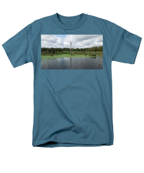 Men's T-Shirt  (Regular Fit) featuring the photograph Green Cay Panorama by Ron Davidson