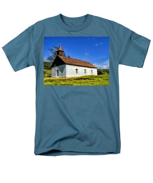 Men's T-Shirt  (Regular Fit) featuring the photograph Hana Church 1 by Dawn Eshelman