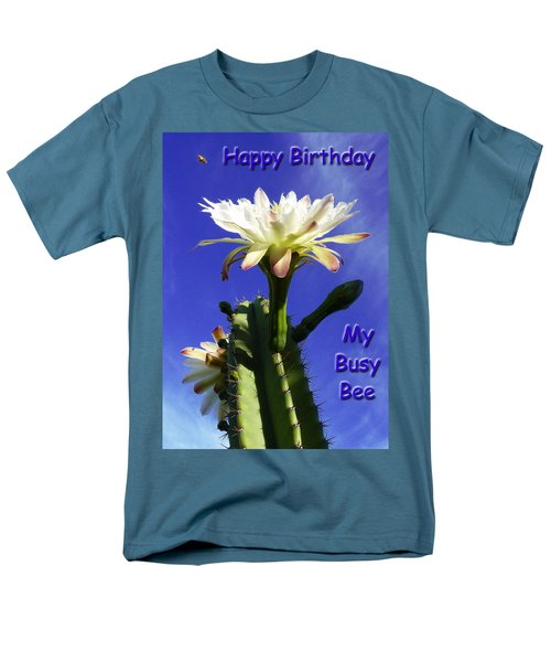 Men's T-Shirt  (Regular Fit) featuring the photograph Happy Birthday Card And Print 13 by Mariusz Kula