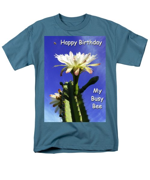 Men's T-Shirt  (Regular Fit) featuring the photograph Happy Birthday Card And Print 14 by Mariusz Kula