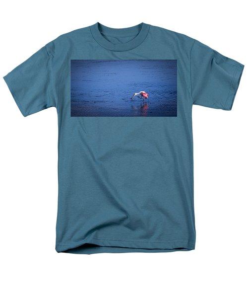 Happy Spoonbill Men's T-Shirt  (Regular Fit) by Marvin Spates