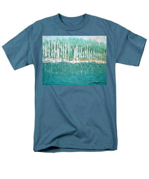 Harbor Shores Men's T-Shirt  (Regular Fit) by George Riney