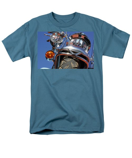 Men's T-Shirt  (Regular Fit) featuring the photograph Harley Close Up by Shoal Hollingsworth