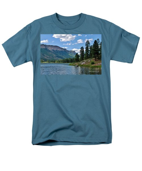 Men's T-Shirt  (Regular Fit) featuring the photograph Haviland Lake by Janice Rae Pariza
