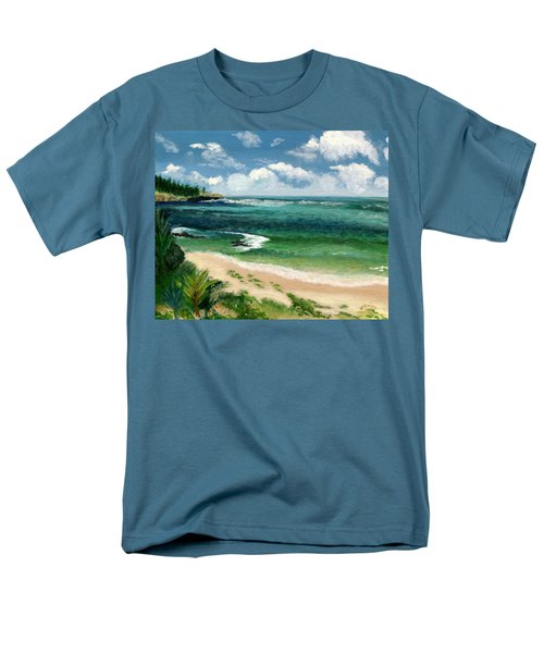 Men's T-Shirt  (Regular Fit) featuring the painting Hawaii Beach by Jamie Frier