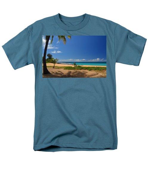 Heavenly Haena Beach Men's T-Shirt  (Regular Fit) by Marie Hicks