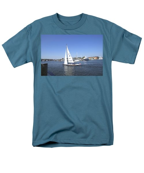 Men's T-Shirt  (Regular Fit) featuring the photograph Heeling by Charles Kraus
