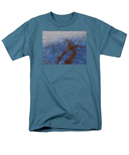 Men's T-Shirt  (Regular Fit) featuring the painting Hold The World by Min Zou
