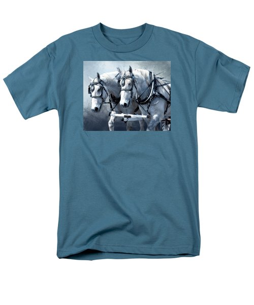 Men's T-Shirt  (Regular Fit) featuring the digital art Homeward Bound by Mary Almond